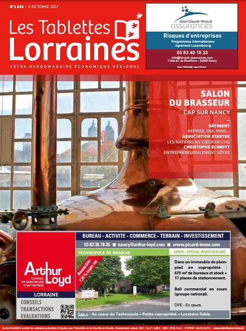 test Twitter Media - Retrouvez votre nouvelle édition des Tablettes Lorraines dès aujourd'hui dans tous vos kiosques! https://t.co/neV169i59E