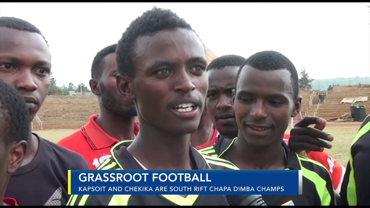 Kapsoit and Chekika are South Rift Chapa Dimba Champs
