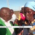 Residents of Umoja in Thika hold peaceful protests against land grabbing