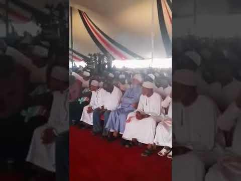 Hassan Omar Welcomes Uhuru Kenyatta to Mombasa   Kenya News Alert