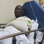 Lucky to be alive; time I figured what this accident means- KTN's Dennis Onsarigo misses death by a whisker