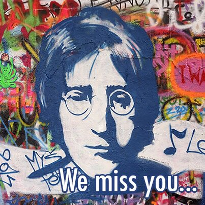 Happy Birthday John Lennon via