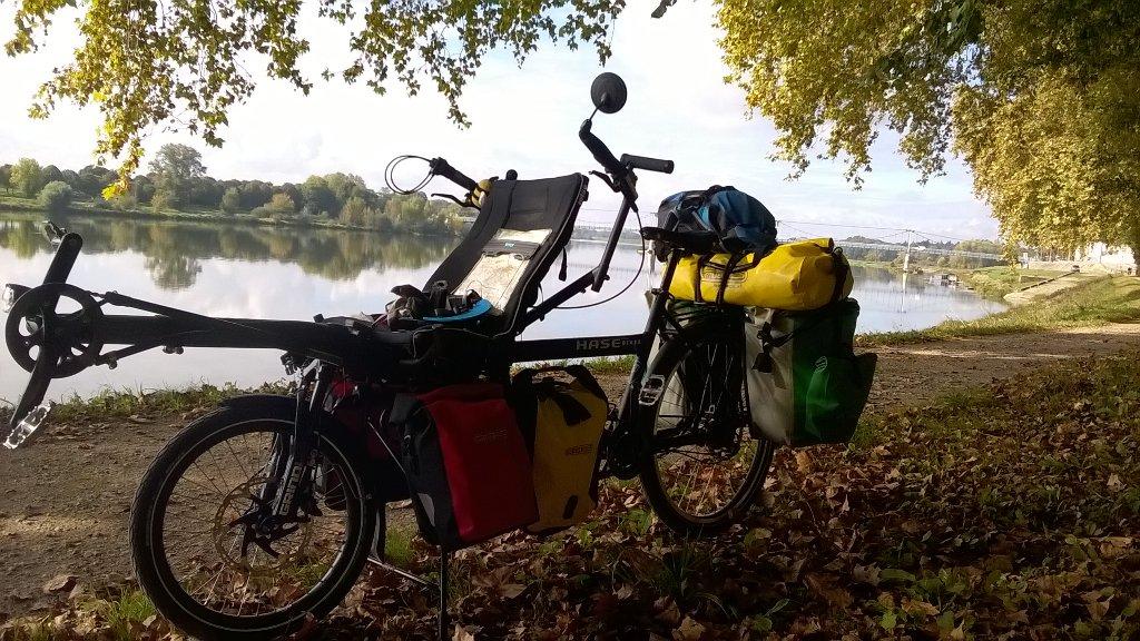 Sur les bords de Loire, le soleil nous accompagne