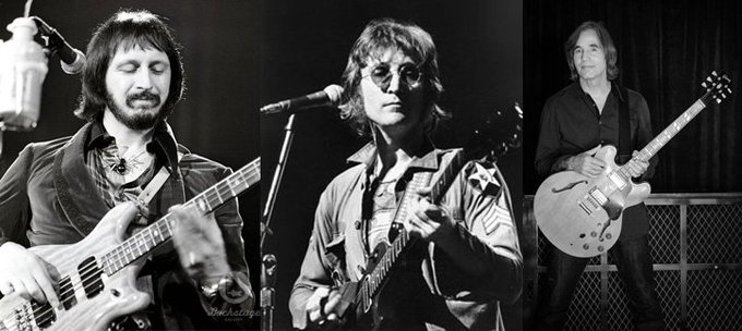Happy birthday to three legends of rock born on this day: John Entwistle, John Lennon and Jackson Browne.