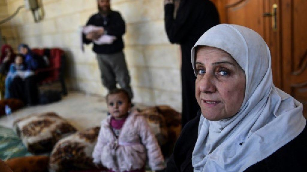 Trapped in Syria's Raqa, civilians become human shields for IS