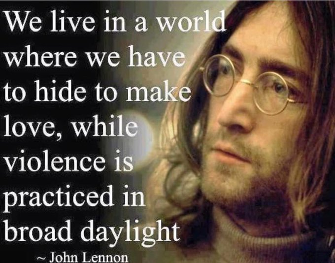 Happy Birthday John Lennon.