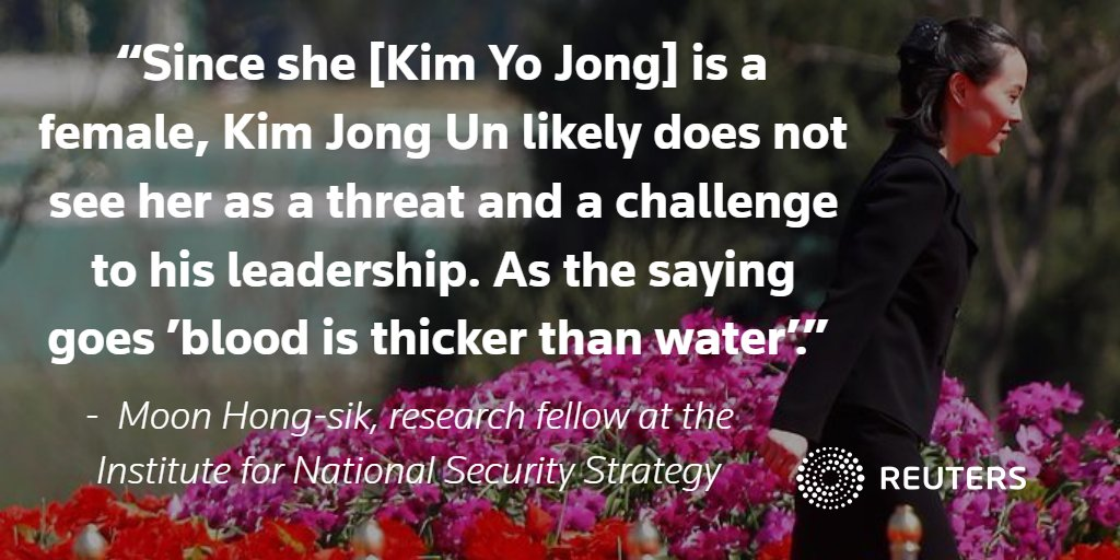 Kim Yo Jong, North Korea's 'princess' and Kim Jong Un's sister, now a top policy maker