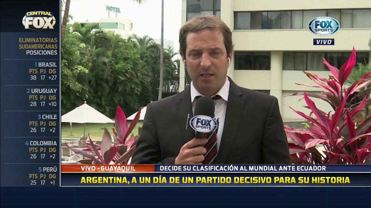 RT @FOXSportsArg: #CentralFOX | La información de la Selección Argentina en la voz de @FedeBuenoFOX https://t.co/TCrQyaWga8