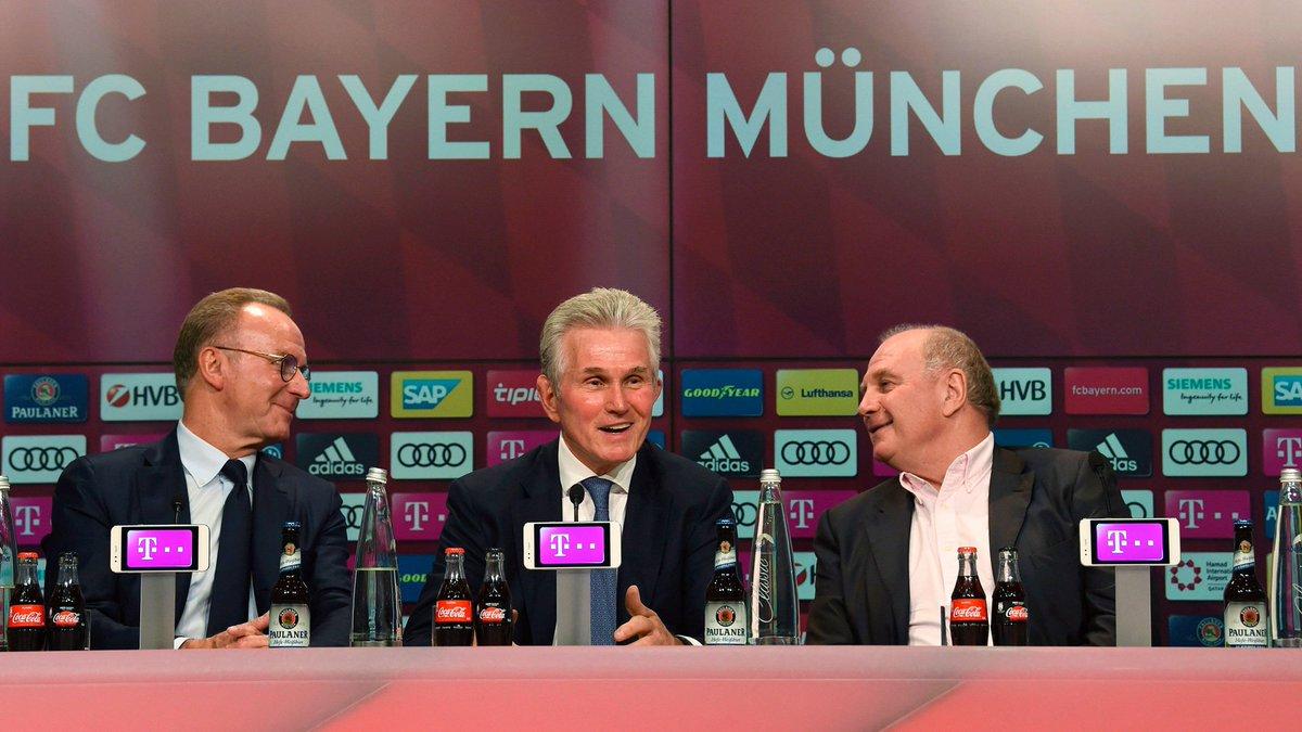 RT @FCBayernUS: Look at someone the way Kalle and Uli look at Jupp. 😍  #MiaSanMia https://t.co/1YuO80QDFt