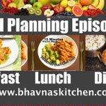 Meal Planning Ideas Episode 1: Breakfast: Vegan Omelette, Lunch: Pasta, Dinner: Chole Puri