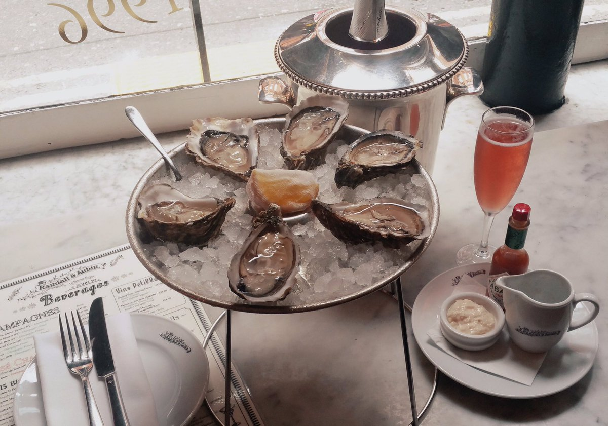 Randall & Aubin Where To Eat Oysters In London