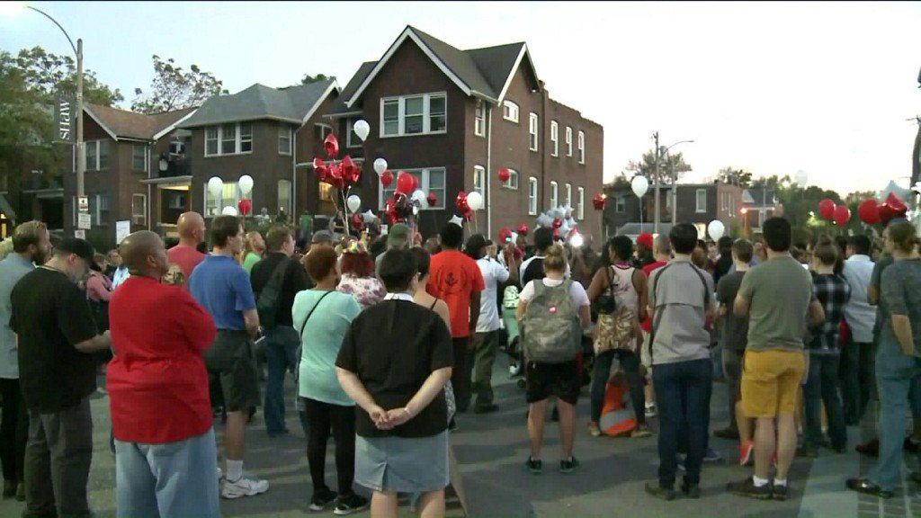 Demonstrators mark 3rd anniversary of VonDerrit Myers death