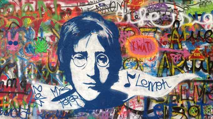 Happy birthday to John Lennon.  Maybe someday we\ll be able to give peace a chance.