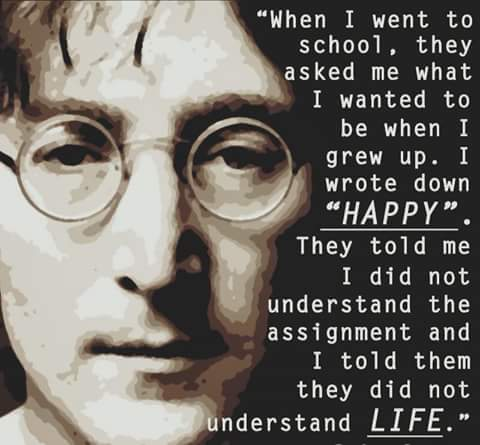 I just adore this man. Love you John Lennon. Happy birthday