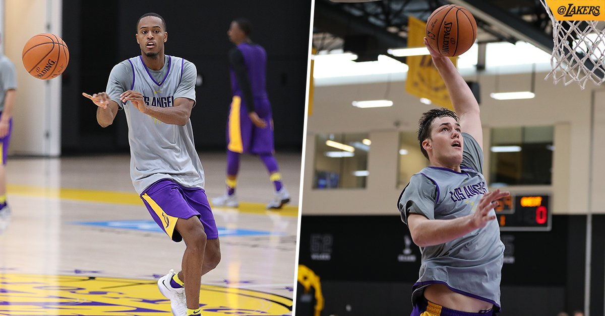 OFFICIAL: Lakers trim training camp roster to 18.  ��: https://t.co/tBdnGe79BQ https://t.co/F1TTp0zfTM