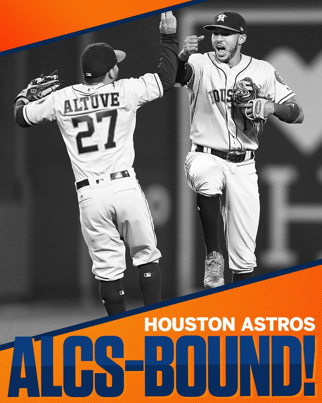 Houston is moving on!  The Astros will play in their first LCS since 2005. https://t.co/ZOoSekwxnS