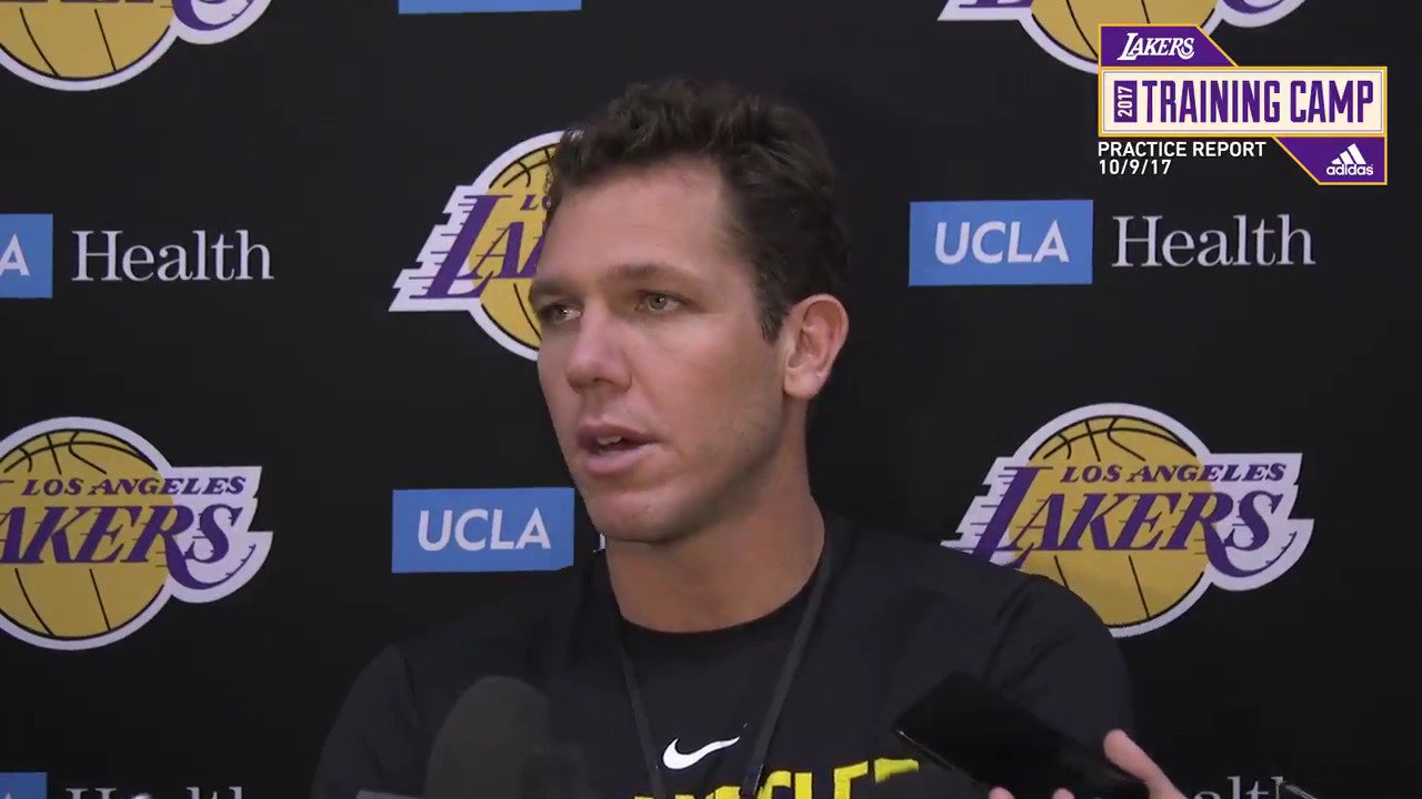 �� Luke Walton chats about the team's first preseason win, Brook Lopez's impact and Kuzma's stellar play. https://t.co/tqKHOKjrGb