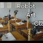 The robots attending arts class - BBC Click