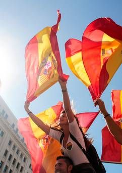Spanish government and Catalonia region show no signs of compromise as protests continue
