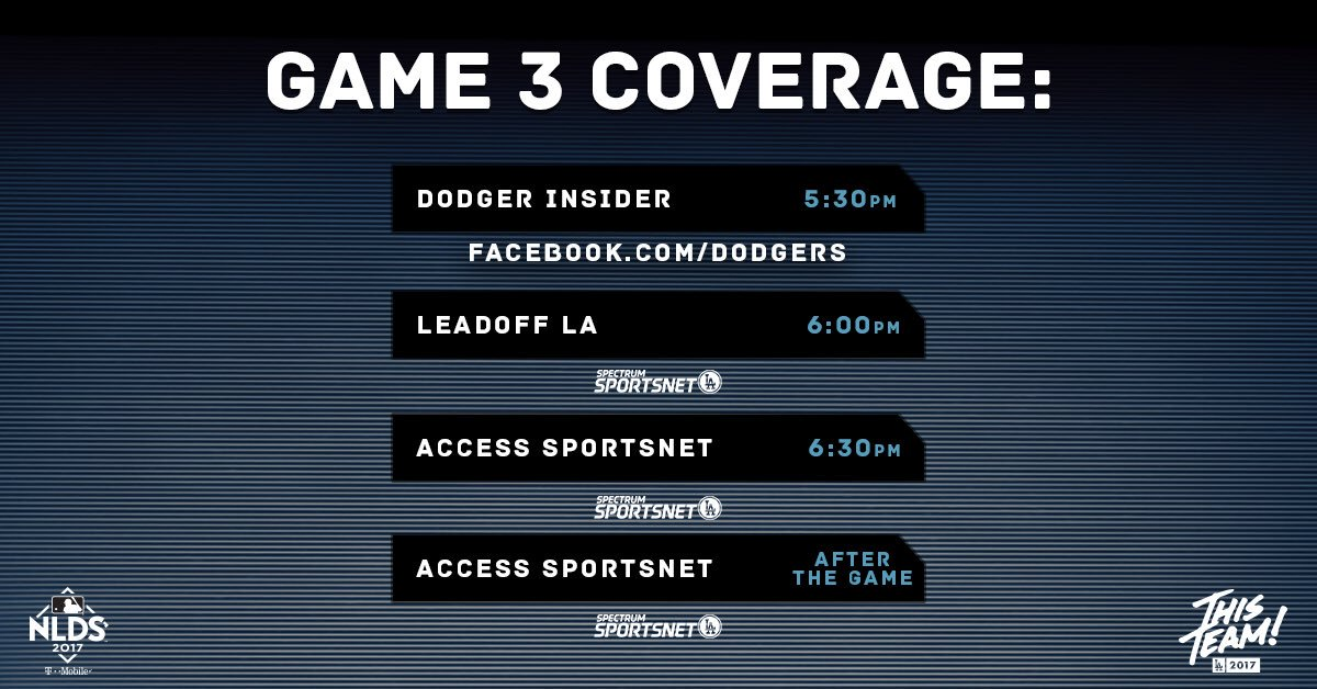 Head to our Facebook now to watch @DodgerInsider LIVE from Chase Field! #ThisTeam https://t.co/SR2hrLipte