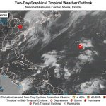 Tropical Storm Ophelia forms in open Atlantic but is not a threat to land
