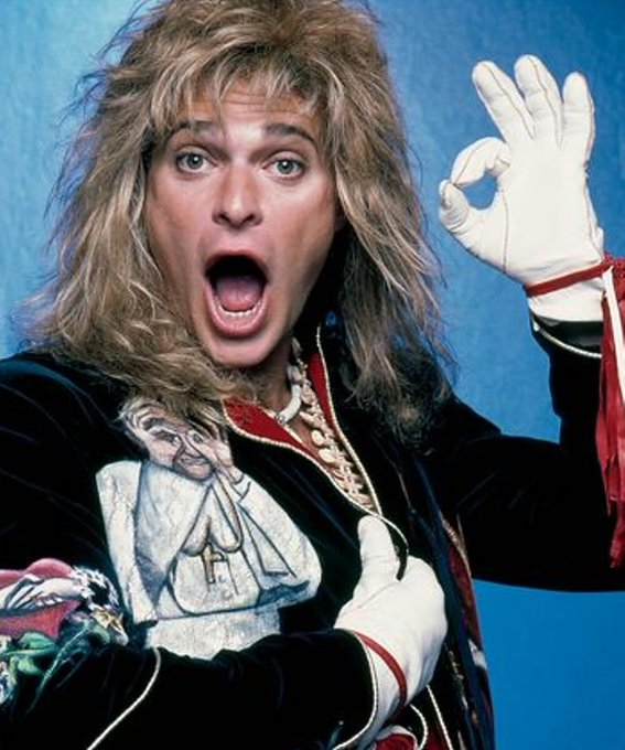 Happy Birthday to David Lee Roth who turns 63 today!