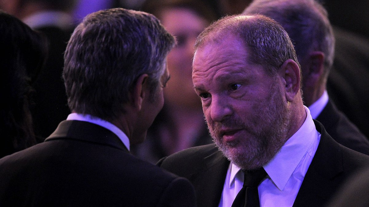 George Clooney says he didn't know Weinstein was harassing women