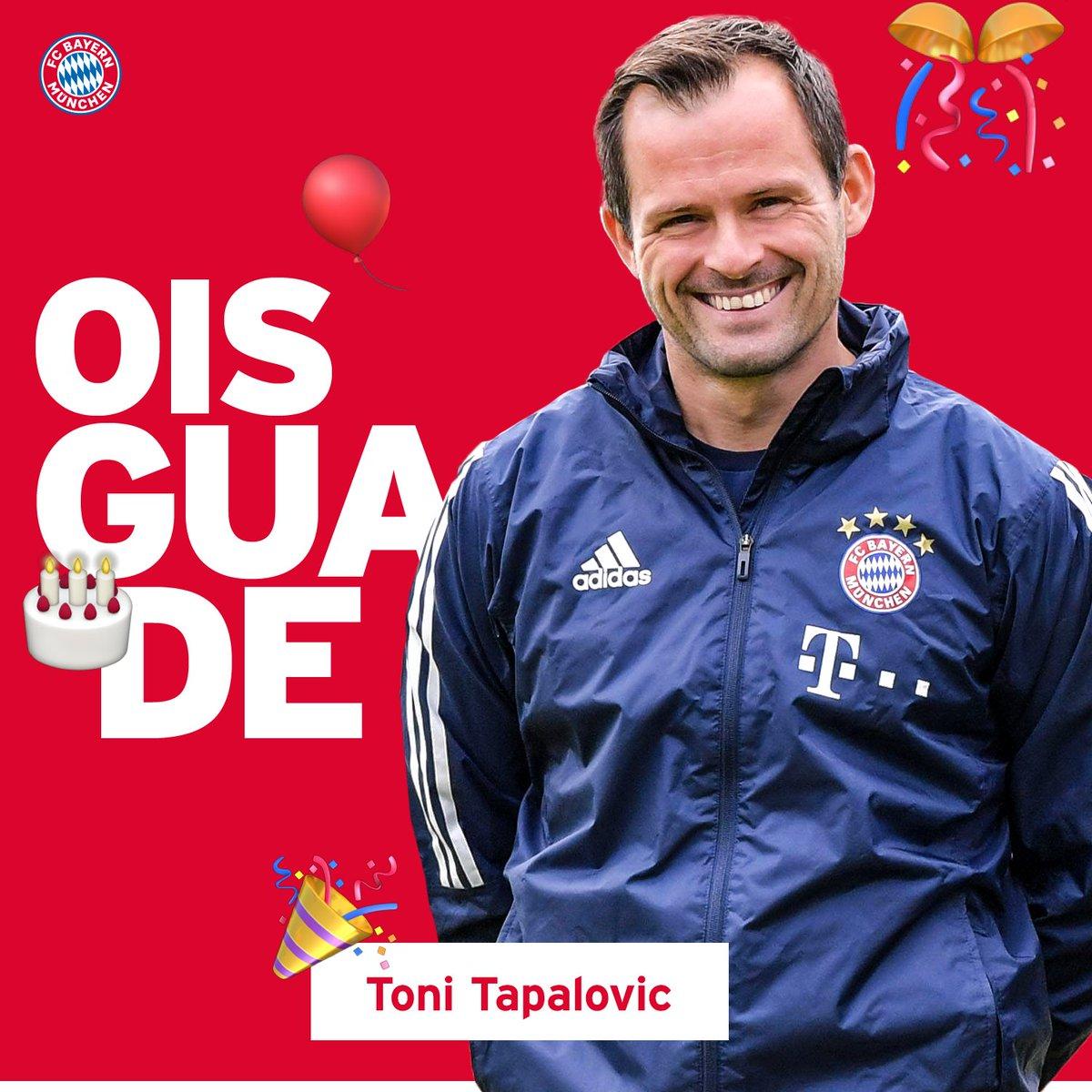 RT @FCBayern: Happy Birthday, Toni #Tapalovic! 👌🎉🎀 https://t.co/ITyX3GJsbe