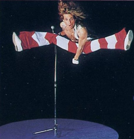 David Lee Roth is 62 years old today. He was born on 10 October 1955 Happy birthday David!