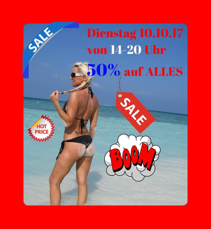 EerNMlintP Heute gibt es wieder auf mein gesamtes Profil 50% Bonus von 14-20 Uhr ! <3 MyDirtyHobby