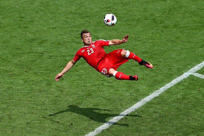 """Happy birthday to \""""the Alpine Messi\"""", Xherdan Shaqiri!"""