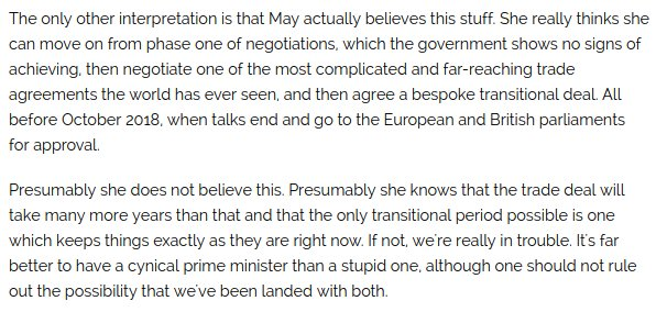 Is May an idiot, a cynics - or both? https://t.co/LiSOePSKSf https://t.co/5C84MlPalw