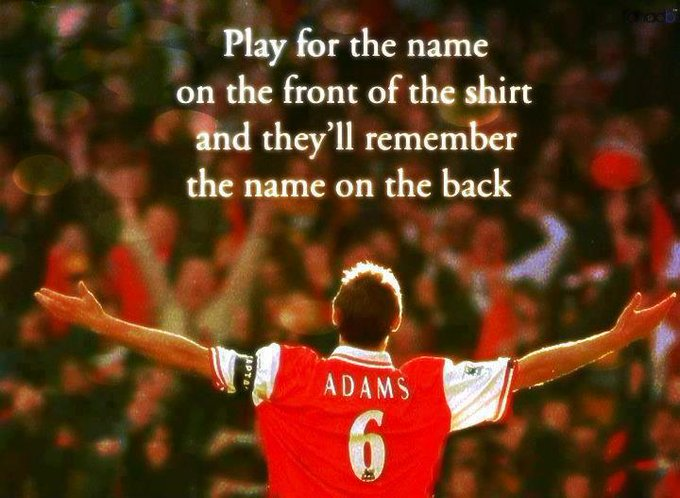 Happy birthday to our Legend Tony Adams