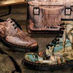 Dr. Martens Transformed Provocative Paintings Into Wearable Art