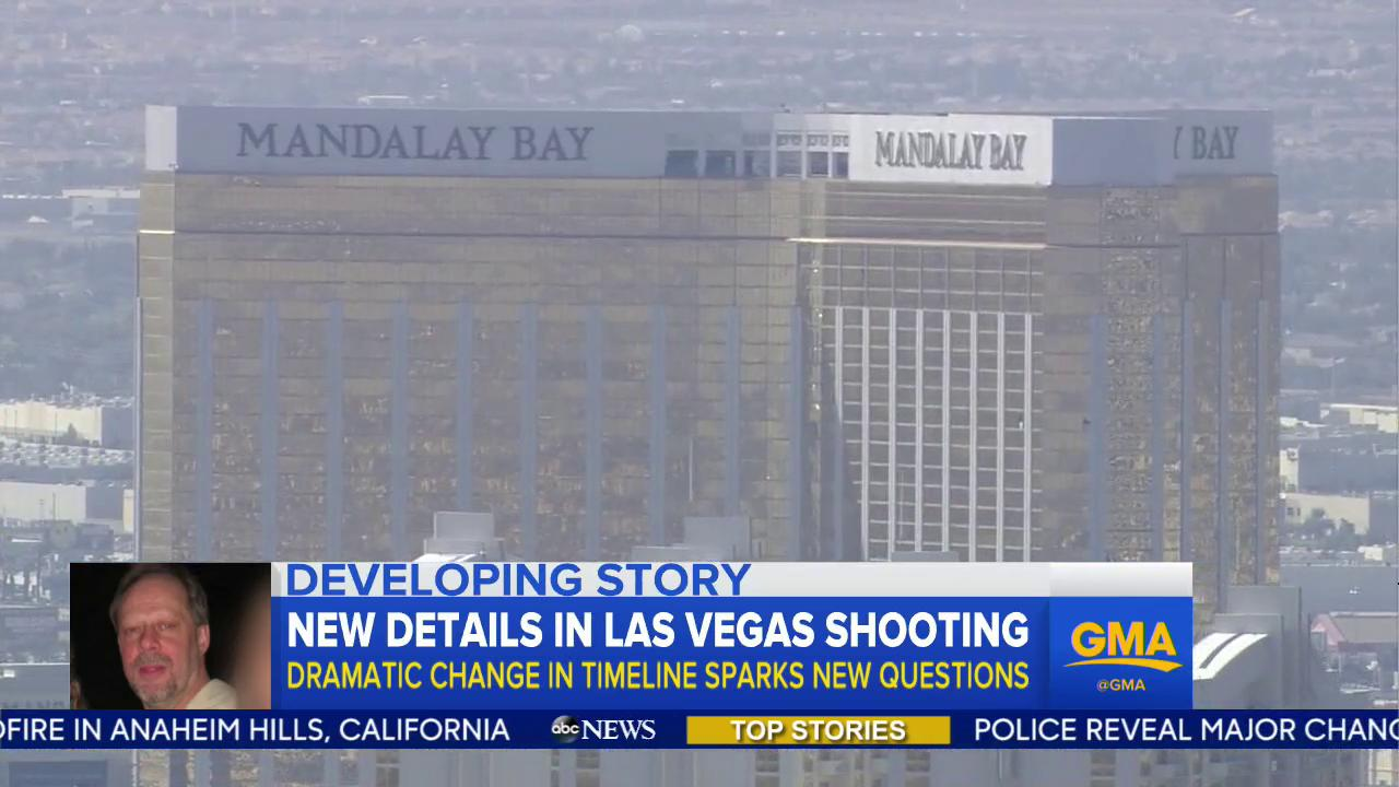 WATCH: New details in Las Vegas shooting; dramatic change in timeline sparks new questions: https://t.co/jJc22QTlmg https://t.co/LQhM6wsTd5