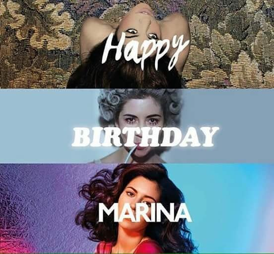 Happy birthday Marina Lambrini Diamandis