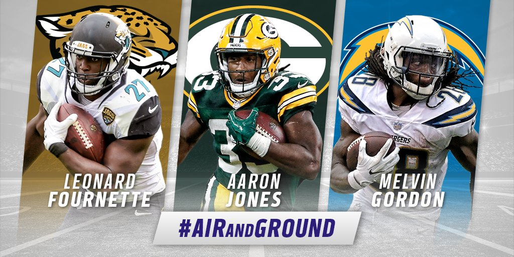 Vote for the @FedEx Ground Player of the Week!  Tweet player's name + #AirAndGround: Fournette. Jones. Gordon. https://t.co/nPTnuDo9IU