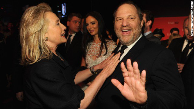 Hillary Clinton breaks her silence and condemns longtime Democratic donor Harvey Weinstein https://t.co/lL1g4jRX6q https://t.co/5hEMLVFcss