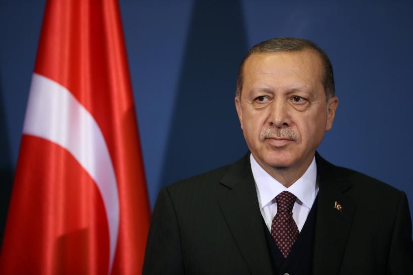 Turkey's Erdogan targets U.S. ambassador over visa dispute