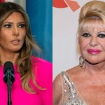 Who's first? First lady Melania feuds with Trump's first wife Ivana