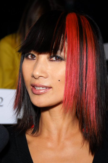 to actress and The Crow star, Bai Ling!