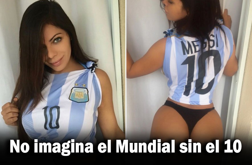 RT @futbolecuador: (FOTO) Miss BumBum quiere que la #Argentina de #Messi derrote a la #Tri https://t.co/aJszR44iFm https://t.co/YQhRcFZ3KP