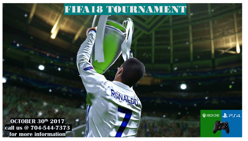 15 more spots available for the #XBOX1 platform and 16 more spots available for the #PS4 platform. #FIFA18 TOURNAMENT ON OCTOBER 30TH. https://t.co/h0sDqafKwc