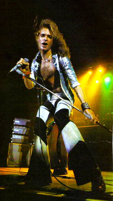 Today should be a national holiday to be honest! Happy Birthday David Lee Roth!