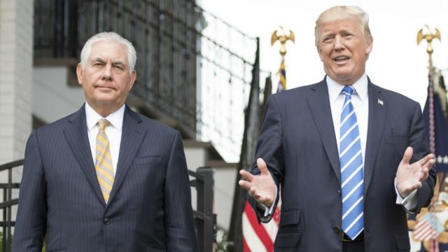 Mensa offers to host IQ-test showdown between Trump and Tillerson
