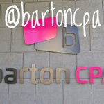 Follow us on Instagram for more signature Barton tomfoolery. @bartoncpa https://t.co/kwaKnIyJCo