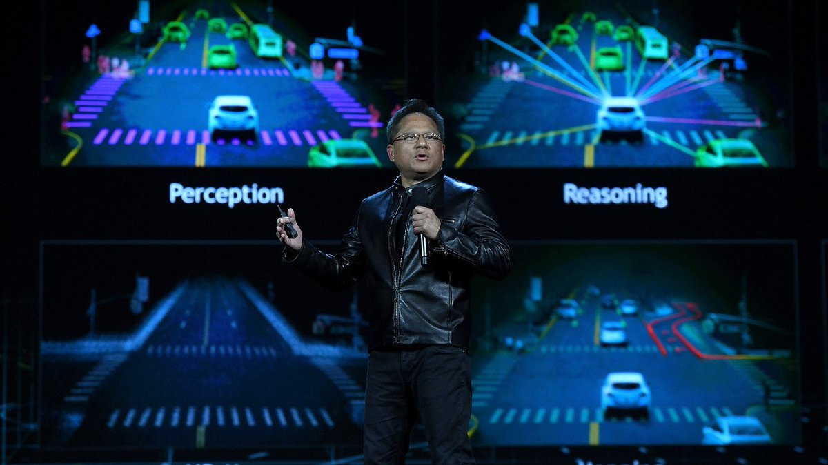 Nvidia wants to put license-plate-sized data centers into self-driving taxis