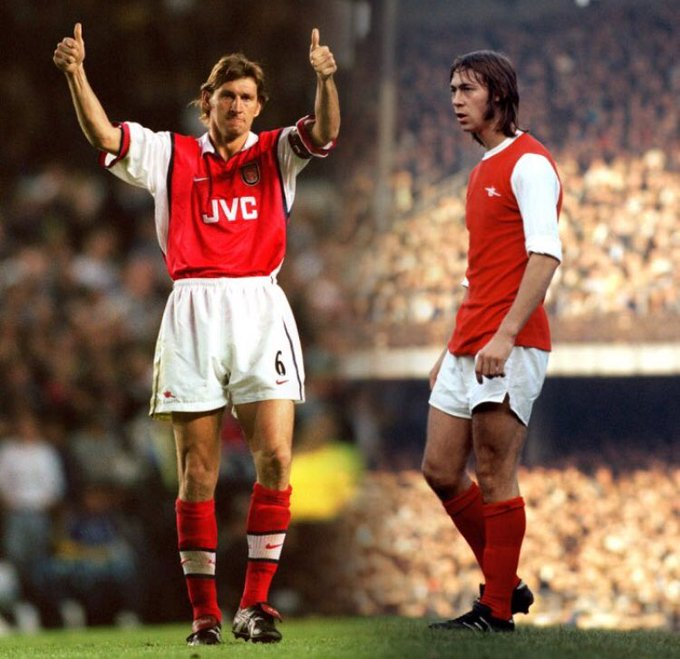 A big happy birthday to two Arsenal legends, Tony Adams and Charlie George.