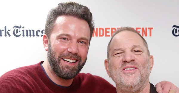 "Ben Affleck is ""saddened and angry"" over the allegations against Harvey Weinstein:"