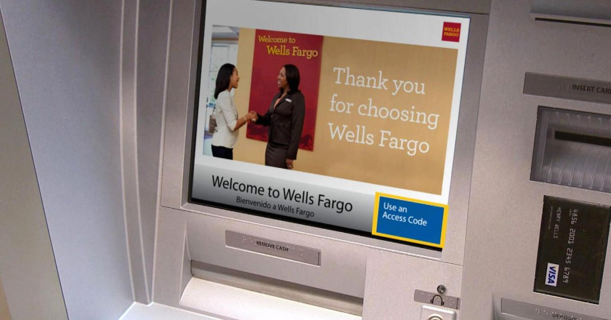 You can now take out cash with your smartphone at some Wells Fargo ATMs